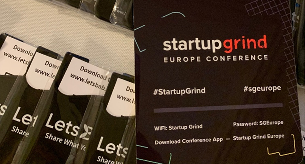 LetsBab | Nominated for 2019 Top 20 European Startup by Startup Grind